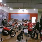 東京モーターサイクルショー 2013 ハスクバーナ ブース