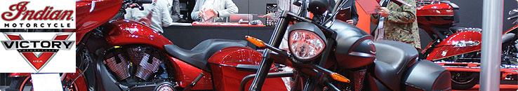 東京モーターサイクルショー 2013 Victory Motorcycle & Indian Motorcycle