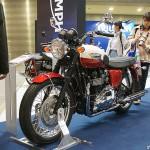東京モーターサイクルショー 2013 トライアンフ ボンネビル T100