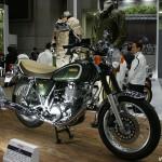 東京モーターサイクルショー 2013 ヤマハ SR400 35周年記念モデル