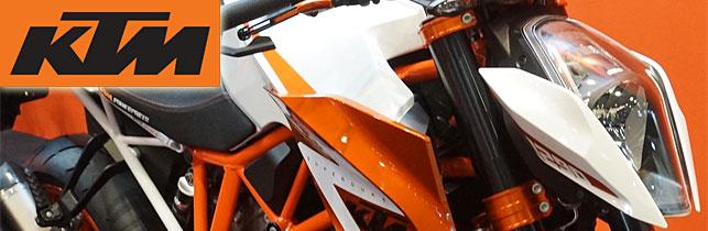 第43回 東京モーターサイクルショー KTM ブース