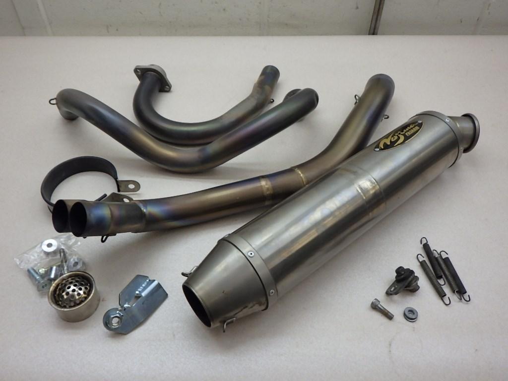 BMW R1200GS アドベンチャー ノジマエンジニアリング チタンマフラー