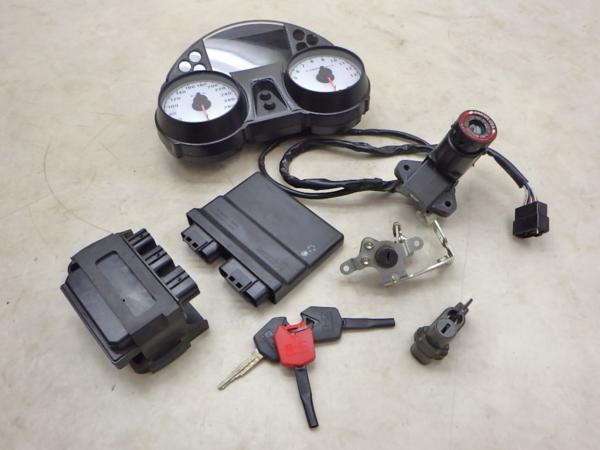 カワサキ ZZR1400 ZX-14 メーター ECU イグナイター メインスイッチ シートロック キー セット