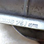 BMW R1150GS アドベンチャー スロットルボディ インジェクター