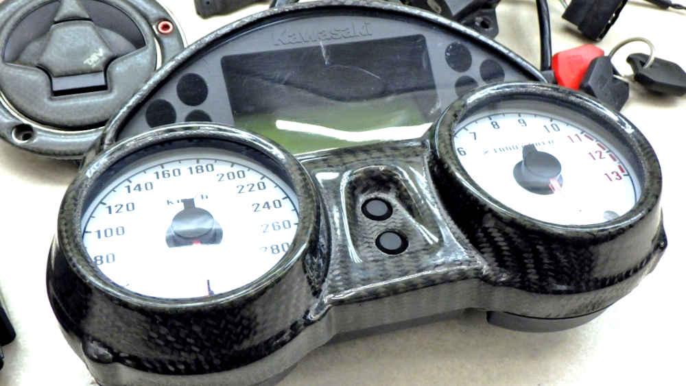 カワサキ ZZR1400 ZX-14 ECU メーター メインスイッチ等 送料無料