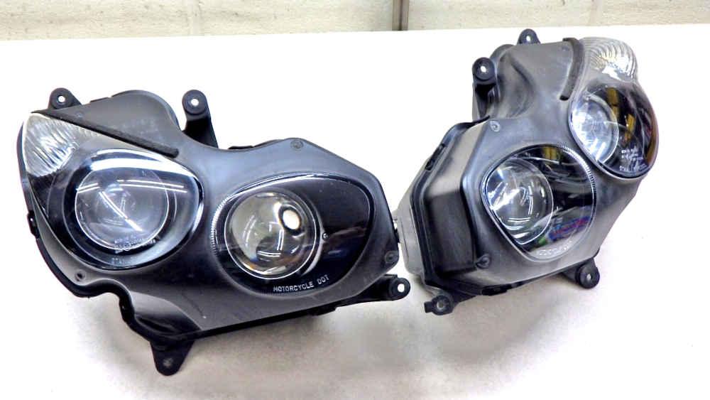 カワサキ ZZR1400 ZX-14 ヘッドライト 送料無料